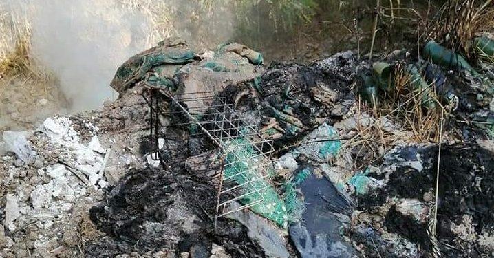Rifiuti in fiamme nella zona di Portosalvo a Vibo, gravi danni all'ambiente e alla salute