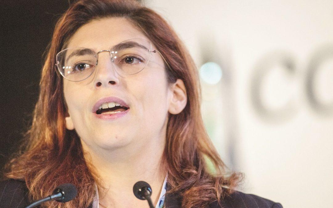 Laura Castelli, viceministro dell'Economia