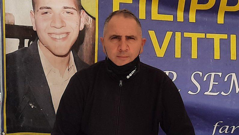Soriano, L'amaro sfogo di Martino Ceravolo: «Aspetto giustizia da 9 anni per mio figlio Filippo»