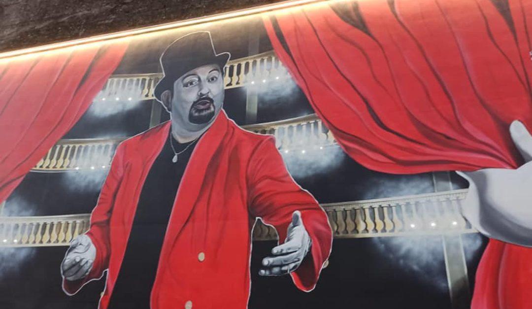 Il murale su Totonno Chiappetta