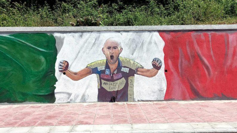 Murales su Pantani a San Mango d'Aquino, all'inaugurazione ci sarà Salvini