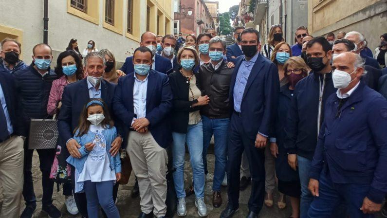 Occhiuto a Vibo Valentia presenta la sua candidatura: «La Calabria può cambiare»