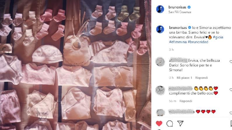 """L'annuncio di Brunori Sas: """"Io e Simona aspettiamo una bimba"""""""
