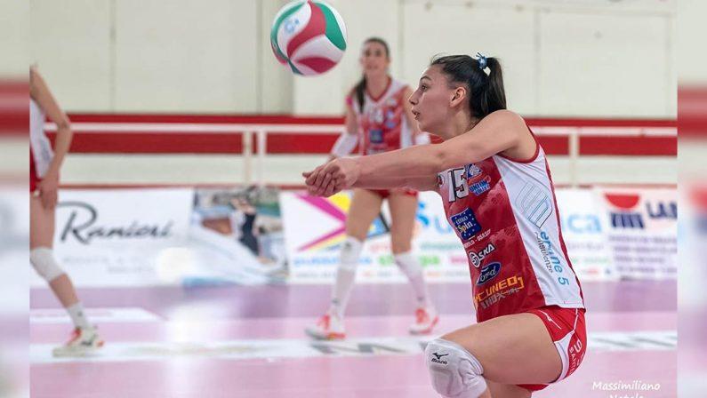 Secondo acquisto per il Volley Soverato È ufficiale la firma di Simona Buffo