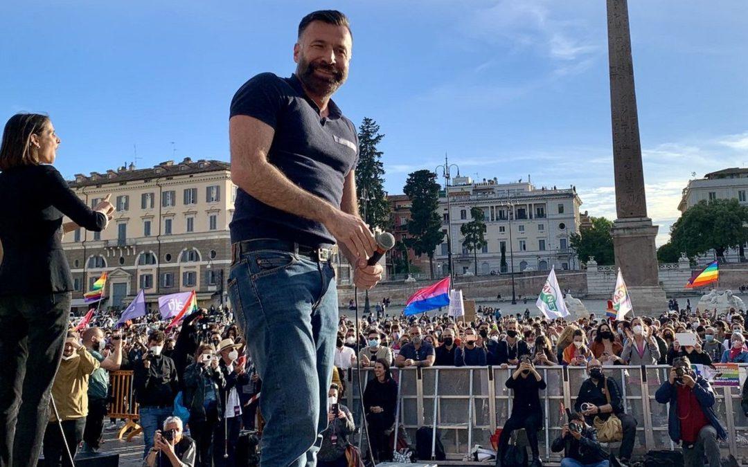 Il deputato del Pd, Alessandro Zan