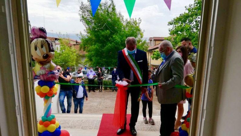 Terzo asilo nido pubblico nel Vibonese: inaugurata struttura a San Calogero
