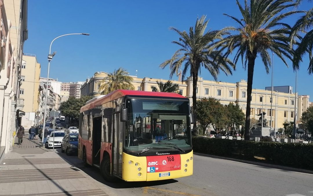 Un autobus Amc a Catanzaro