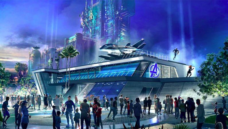 VIDEO - Avengers campus, inaugurata a Disneyland l'area dedicata ai supereroi