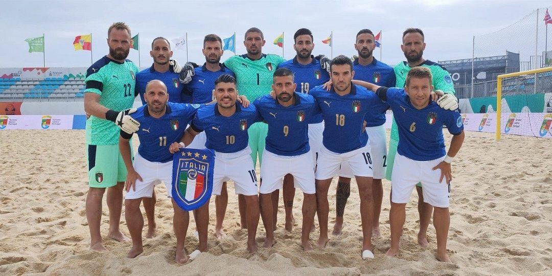 Per la Nazionale di Beach Soccer tre vittorie in altrettante partite agli Europei