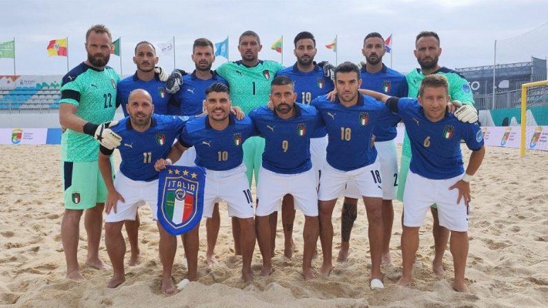 Beach Soccer: doppietta del catanzarese Zurlo e missione compiuta per la Nazionale