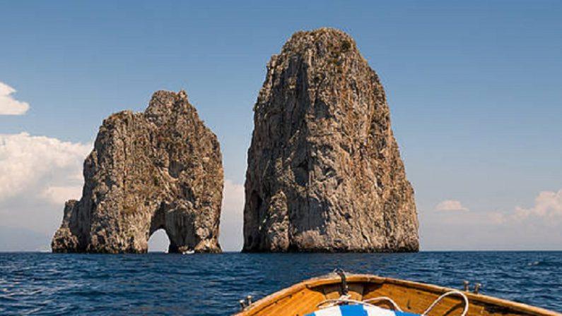 Galoppa il turismo in Campania soprattutto nelle isole