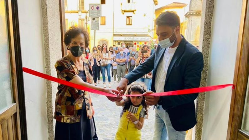 """A Serra San Bruno inaugurata la Casa della cultura """"Sharo Gambino"""""""