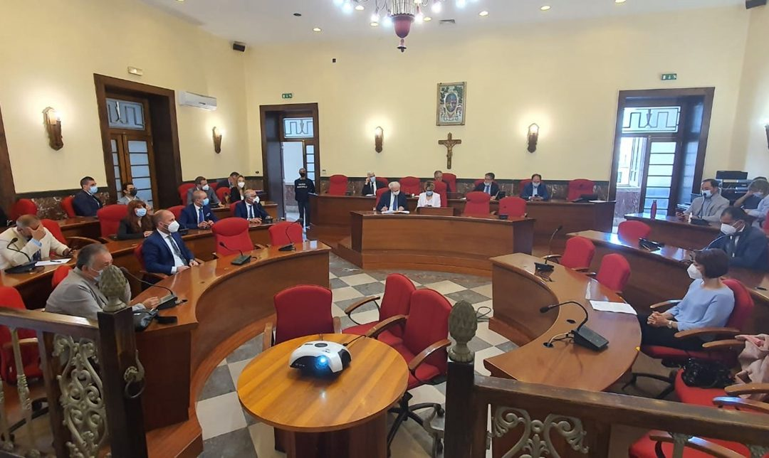 La seduta dell'ultimo Consiglio comunale a Vibo Valentia