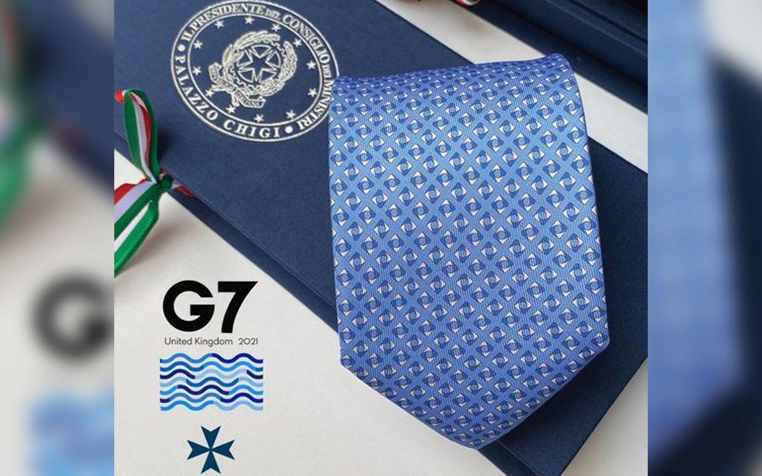 G7, Draghi regala a capi di Stato e di governo le cravatte e i foulard calabresi di Talarico