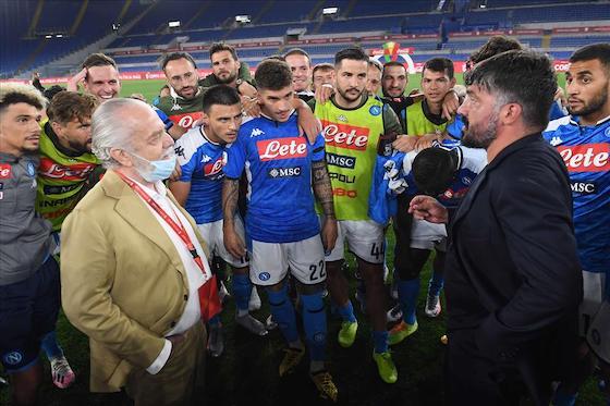 """Napoli, de Laurentiis rompe il silenzio: """"Ecco la verità sulla rottura con Gattuso"""""""