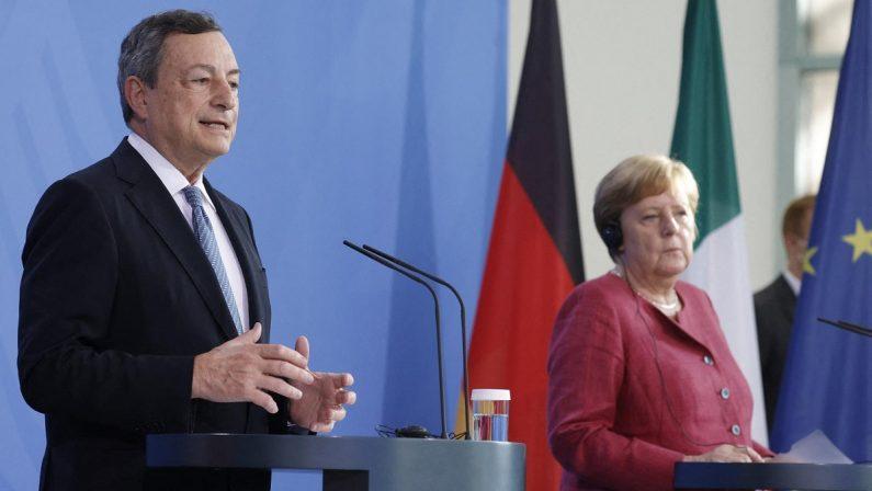 La Merkel ci ha dimostrato che il vero tesoretto dell'Italia si chiama Draghi