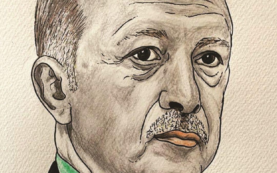 Il presidente Erdogan visto da Franco Pasqualone