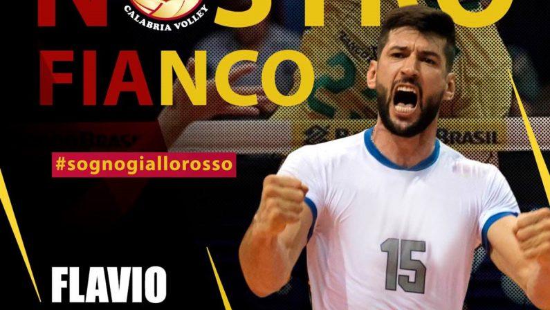 Volley, Tonno Callipo sempre più carioca: ingaggiato il centrale Flavio Gualberto