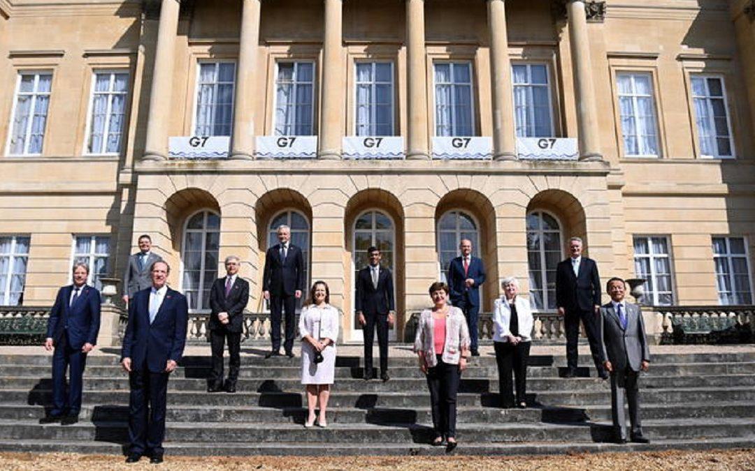 G7, accordo storico sulla tassazione globale per le multinazionali