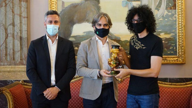 """Giovanni Allevi a Reggio Calabria per le riprese del nuovo videoclip """"Kiss me again"""""""