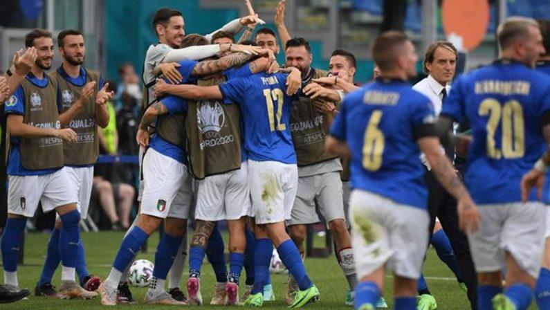 Euro 2020, Italia batte Galles 1-0: azzurri agli ottavi a punteggio pieno