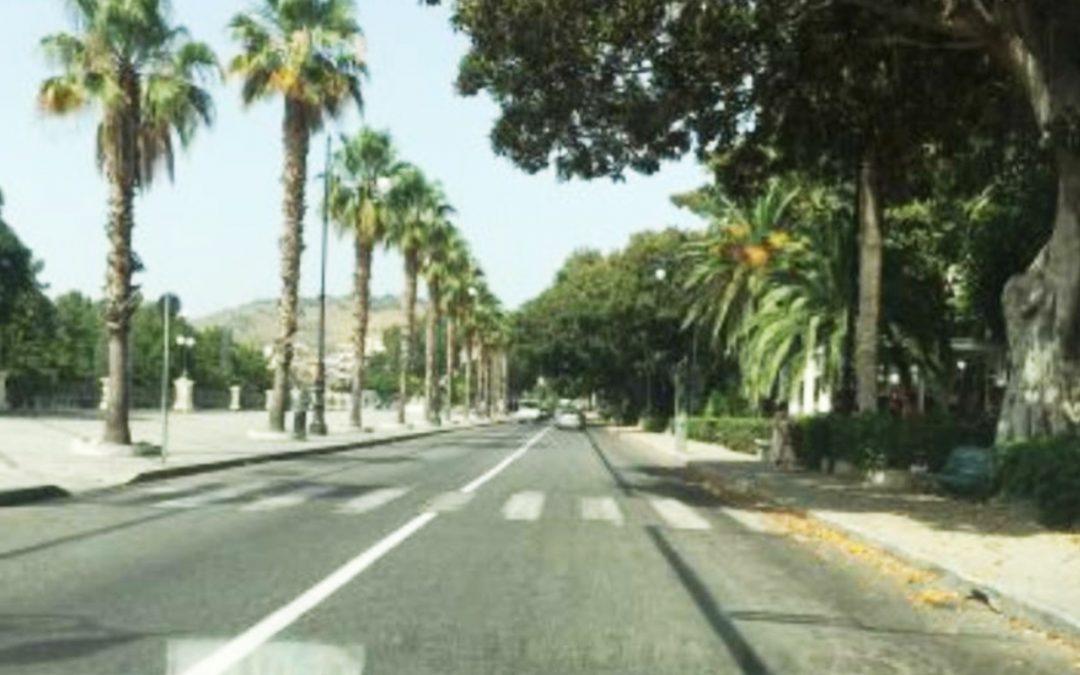 Il lungomare di Reggio Calabria doppio senso di circolazione
