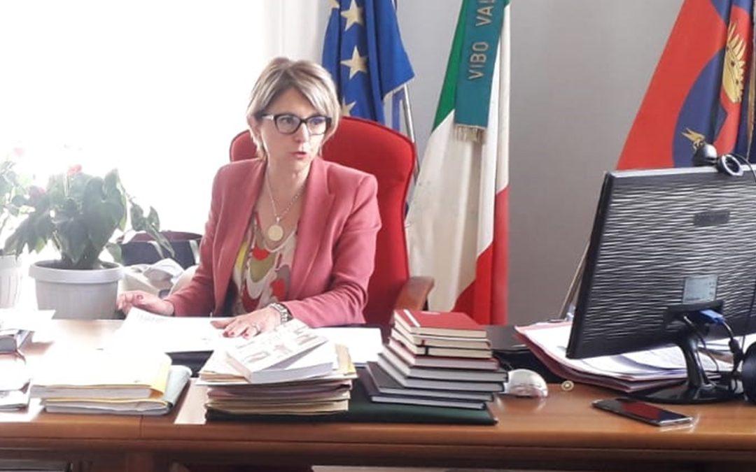 Il sindaco di Vibo Valentia Maria Limardo
