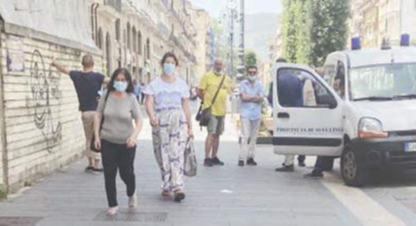 Mascherine e movida blindata: cresce la protesta ad Avellino