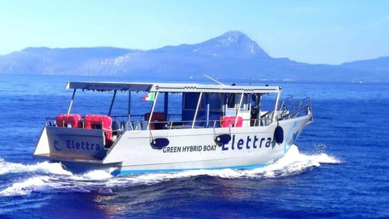 Turismo, inaugurata a San Nicola Arcella la prima motonave ibrida