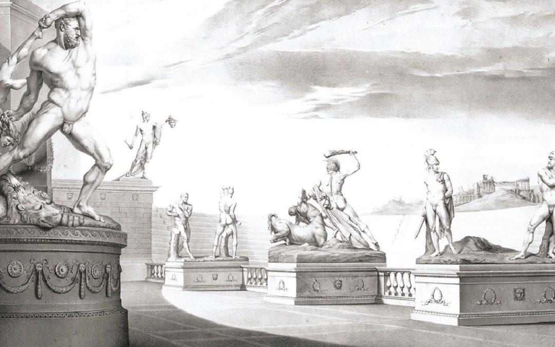 """Michele Fanoli, """"Opere di Antonio Canova - Soggetti eroici"""""""