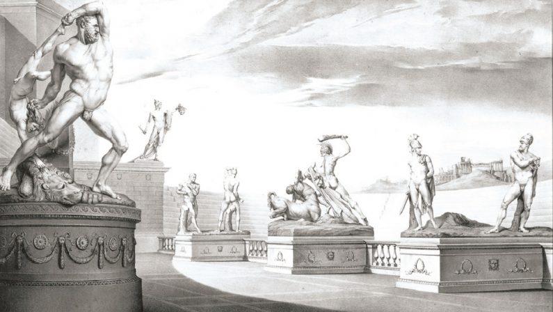 Tutte le opere dell'immortale Canova, il mito nelle cinque litografie di Fanoli