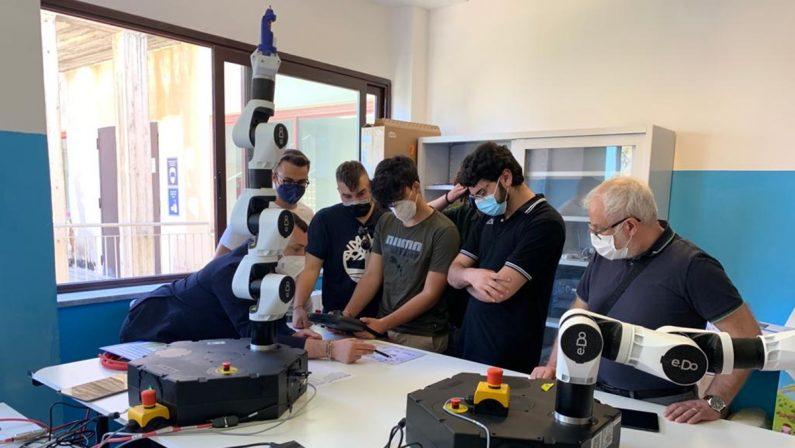 I futuri programmatori di robot di Calabria e Sicilia passano dall'Iti-Itg di Vibo