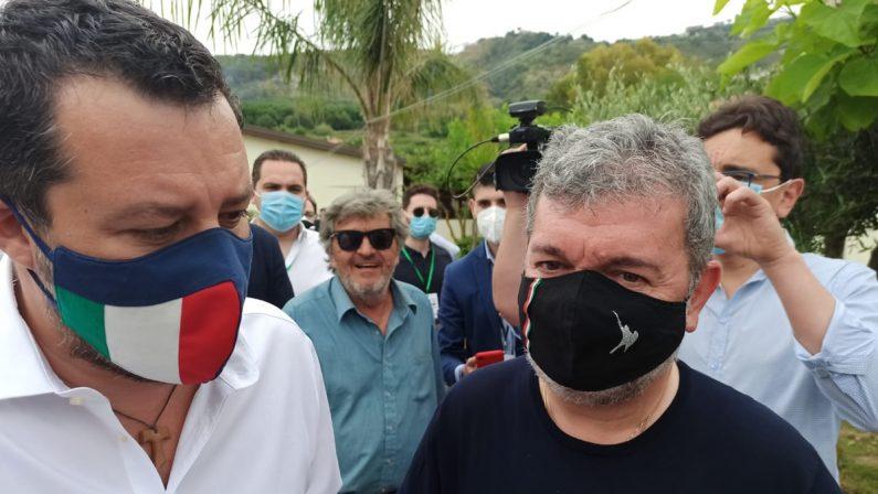 Voto in Calabria, Salvini: «Orgoglio per la Lega, abbiamo più che raddoppiato i voti»