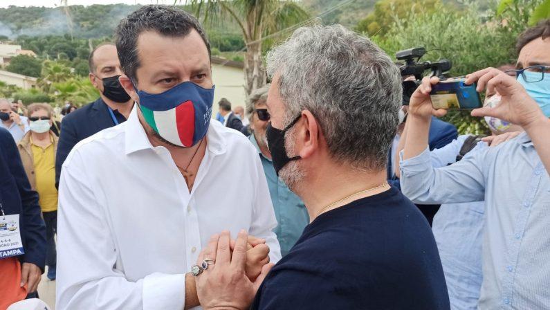 Salvini torna in Calabria, ma la Lega è una bomba ad orologeria
