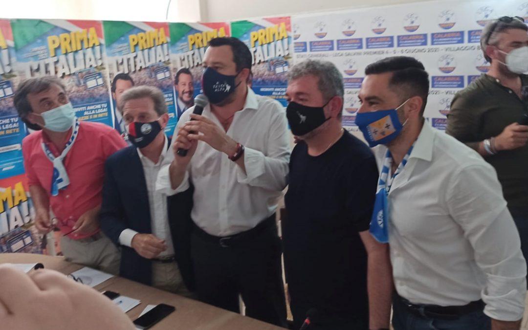 L'intervento di Matteo Salvini a Zambrone