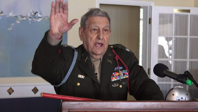 Muore in America il colonnello Sam, veterano di Caraffa del Bianco