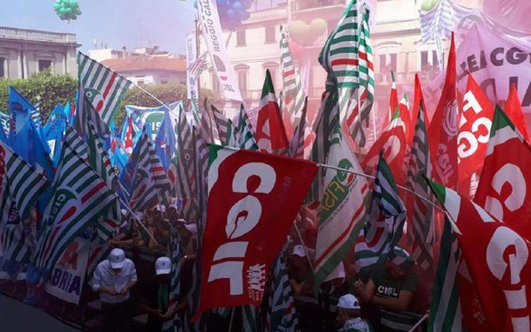 La manifestazione nazionale a Reggio Calabria del 22 giugno 2019
