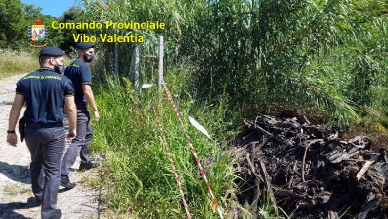 Smaltimento illegale di scarti edilizi, tre denunce a Ricadi