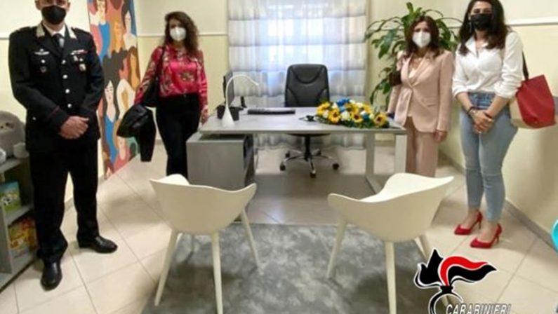 """Violenza di genere, a Palmi c'è una """"stanza tutta per sé"""""""