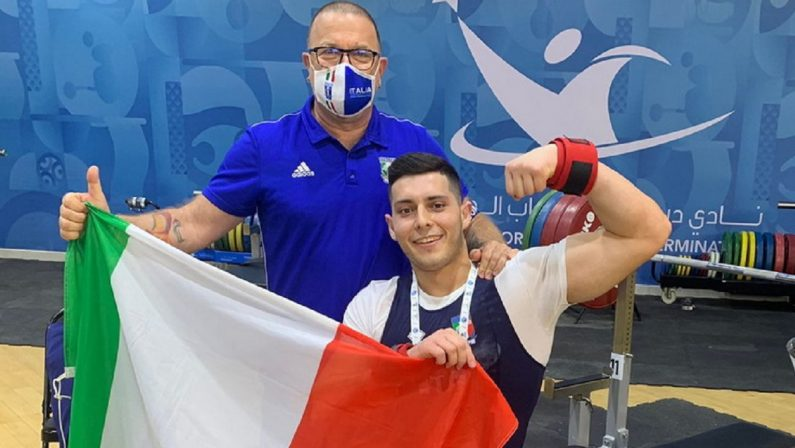 Para Powerlifting, secondo posto in Coppa del Mondo e record europeo per il lucano Telesca
