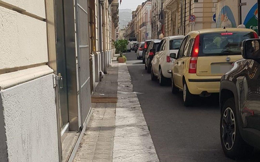Traffico a Reggio Calabria dopo l'istituzione della nuova isola pedonale