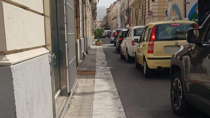 Reggio Calabria, battesimo da incubo per la zona pedonale di corso Matteotti