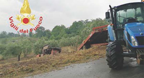 Schiacciato dal trattore – Ancora tragedia nei campi