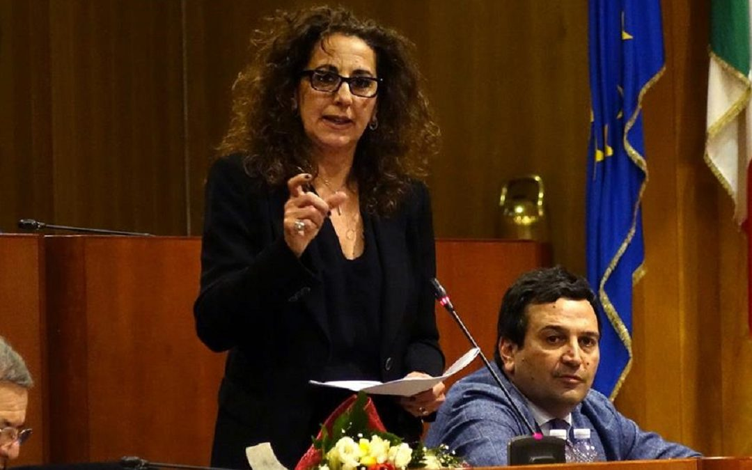 Wanda Ferro, coordinatrice di Fratelli d'Italia in Calabria