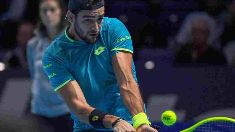 Tennis, Matteo Berrettini rinuncia alle Olimpiadi di Tokyo