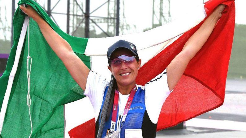 Olimpiadi Tokyo 2020, Diana Bacosi argento nel Tiro a volo nella prova di skeet