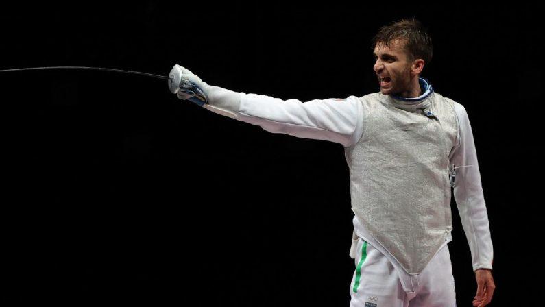 Olimpiadi di Tokyo 2020, Daniele Garozzo argento nel fioretto