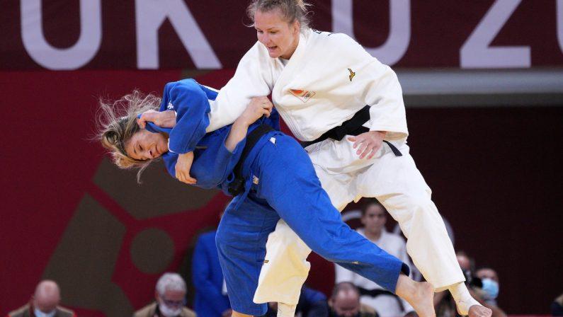 Olimpiadi di Tokyo 2020, medaglia di bronzo per la Centracchio nel judo