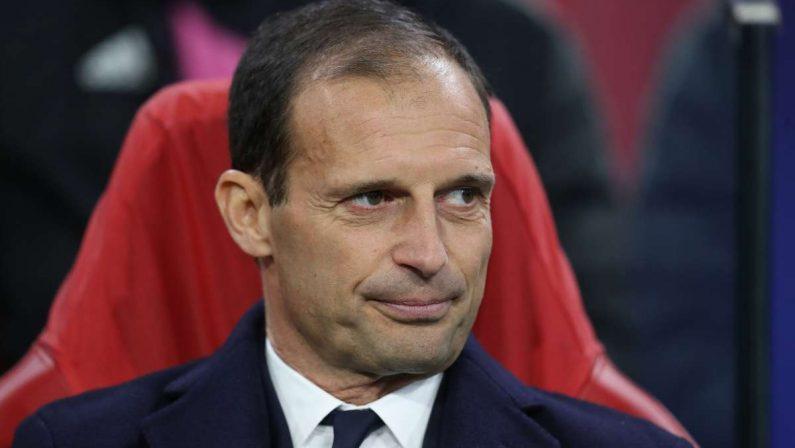"""Allegri """"La Juve mi emoziona, lotteremo per ogni trofeo"""""""