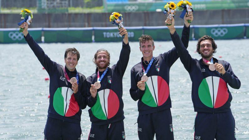 Olimpiadi di Tokyo 2020: canottiere Rosetti positivo al Covid, bronzo per il 4 senza